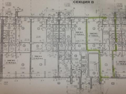 Помещение коммерческое на 1ом этаже с отдельным входом Черниковская 20 - Фото 2