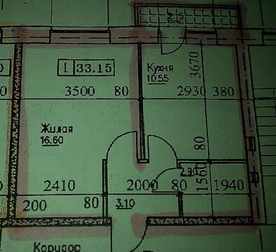 Ю/з район,1-ком.квартира в новом доме с ин.отоплением 36 кв - Фото 1