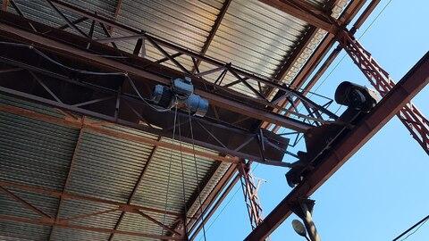 Навес для сварочных работ площадью 1200 м2 - Фото 1
