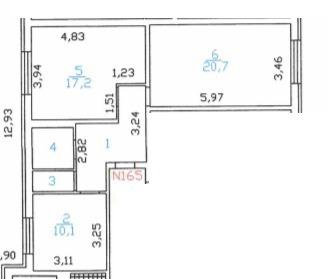 Объявление №49944165: Продаю 2 комн. квартиру. Новое Девяткино, ул. Арсенальная, 4,