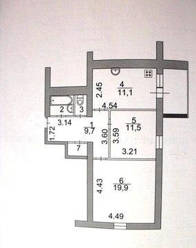 Продам 2 к.кв. ул. Центральная д. 14 - Фото 1