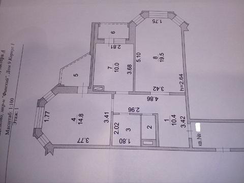Продаётся двухкомнатная квартира Щёлково Финский 9 корп 1, фото 11