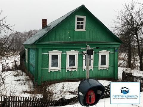 Дом в деревне рядом с остановкой, 30 соток, озеро и лес - Фото 2