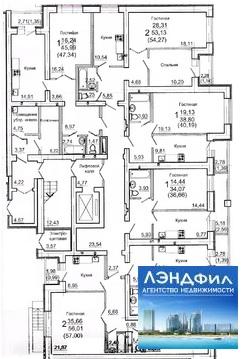 2 комнатная квартира, ул. Воскресенская, 34 - Фото 5