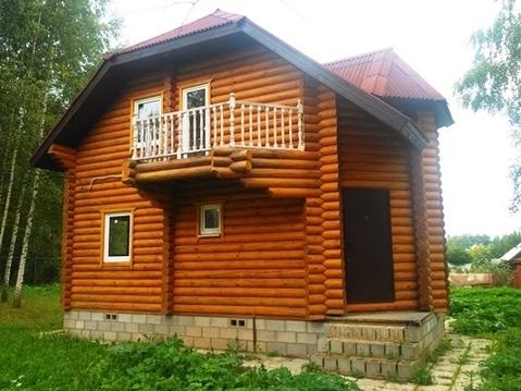 Бревенчатый дом в СНТ вбл. п. Беляная Гора, Рузский городской округ - Фото 2