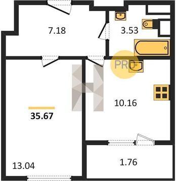 Однокомнатная Квартира Москва, улица Тайнинская, вл.9-11, СВАО - . - Фото 4