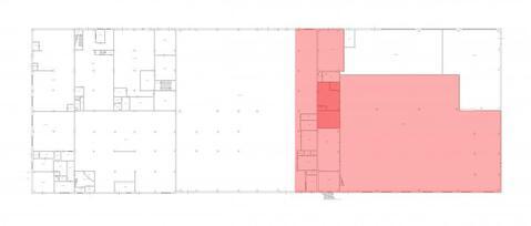 Сдается теплое помещение под склад 2319.3м2, 1-2эт, h-8.9м, Новикова - Фото 3