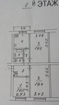 Продам 3-к квартиру, Москва г, Новоконюшенный переулок 9с1 - Фото 1