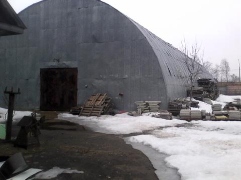 Складское помещение - ангар 600 кв.м на асфальтированной территории - Фото 1