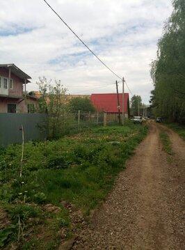 В черте г.Пушкино продается земельный участок площадью 8 соток - Фото 3