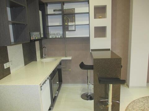 Квартира студия с ремонтом и мебелью в городе Сочи мик-он Новый Сочи - Фото 3
