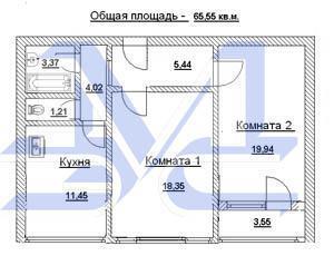 Квартира в новостройке ул. Вокзальная - Фото 1
