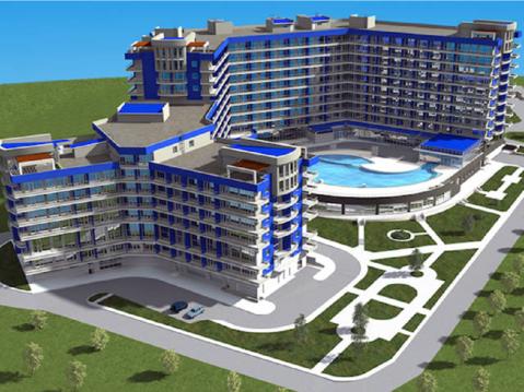 """Продаются 1-но комнатные апартаменты, кк """"Аквамарин"""" г. Севастополь. - Фото 1"""