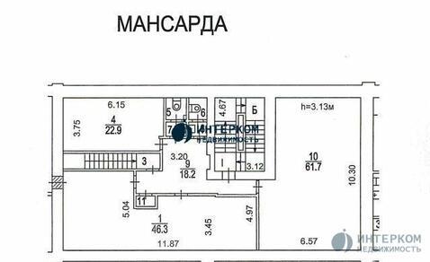 Сдается в аренду: Аренда мансардный этаж (пятый) М - Фото 3
