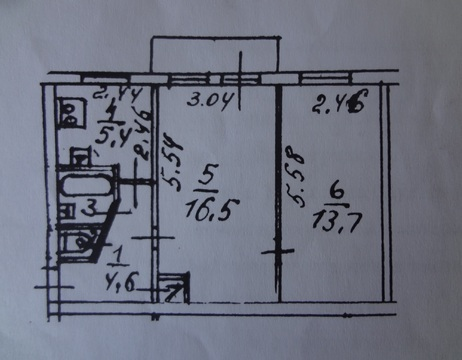 Продам двухкомнатную квартиру в п.Терволово - Фото 1