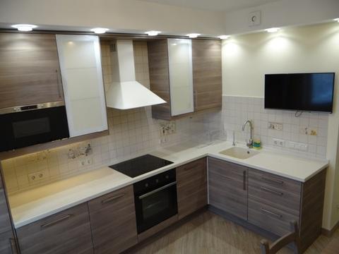 3-комнатная квартира с хорошим ремонтом и бытовой техникой в г. Химки - Фото 1