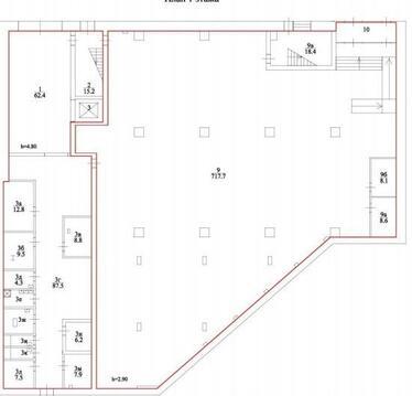 Торговое помещение по адресу Зеленый пр.83 стр.2 - Фото 3
