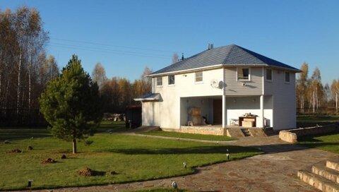 Дом 140м2 с банькой 64м2 и озером 150м2 - Фото 5