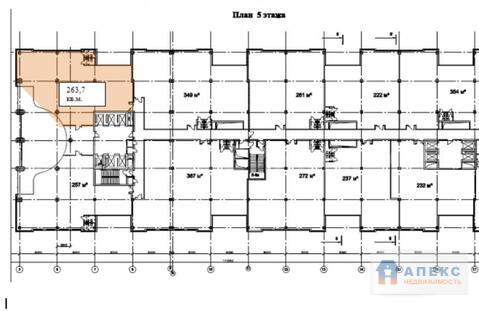 Продажа офиса пл. 263 м2 м. Калужская в бизнес-центре класса В в . - Фото 2