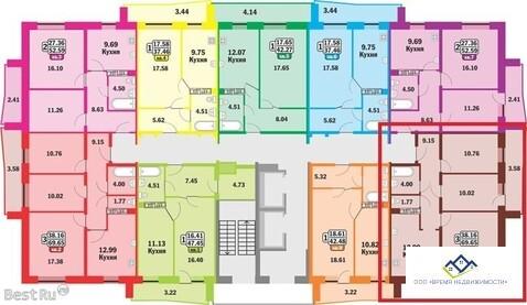 Продам 1-тную квартиру Краснопольский пр31,11эт, 47 кв.м.Цена 1678 т.р - Фото 3