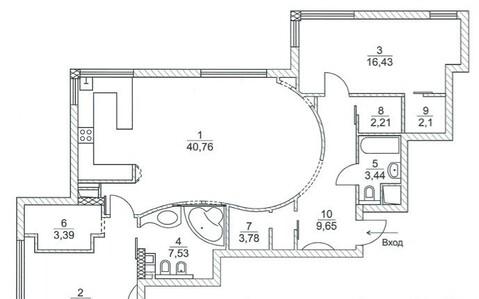 """Продаётся 3-х комнатная квартира в ЖК бизнес класса """"Эльсинор"""". - Фото 4"""