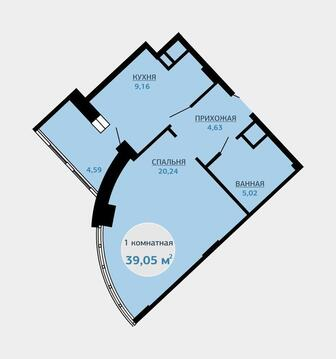 Продажа квартиры, Тюмень, Малиновского, Купить квартиру в Тюмени по недорогой цене, ID объекта - 318370057 - Фото 1