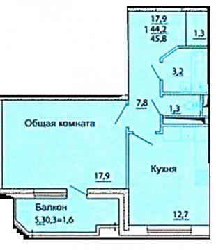 Продажа квартиры, Краснодар, Им Репина улица, Купить квартиру в Краснодаре по недорогой цене, ID объекта - 323337705 - Фото 1