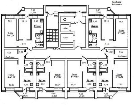Продажа 2-комнатной квартиры, 47.5 м2, Ленина, д. 202 - Фото 2