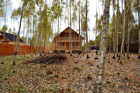 Дом в березовой роще, на огороженной и охраняемой территории. - Фото 5