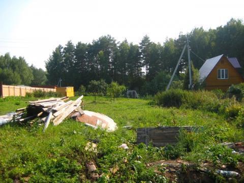 Продаётся уч-ок 9 соток в СНТ Ветеран-3 эл-во, водопровод р.Ока, лес ! - Фото 3