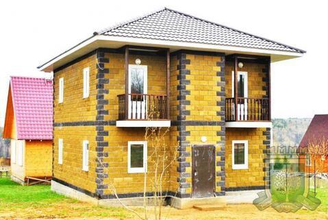 Новый дом около реки Ока, Симферопольское шоссе, 85 км от МКАД - Фото 1