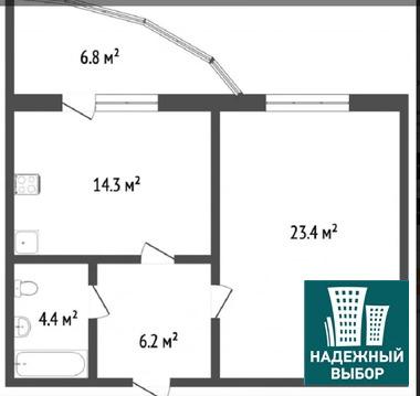 Объявление №65279344: Продаю 1 комн. квартиру. Тюмень, ул. Харьковская, д. 66,