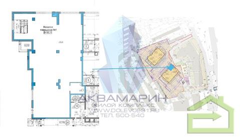 Просторное помещение 180 кв.м. в новом ЖК на Водстрое - Фото 3