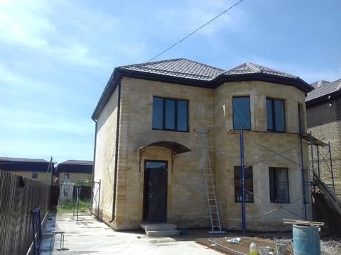 Готовый дом 140 м2.4 сот.Из дагестанского камня - Фото 4