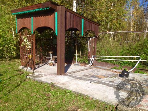 Обустроенный участок в деревне Угрюмово, г.о. Домодедово, Чеховский р- - Фото 3