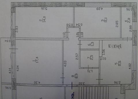 3 к.кв 10 минут от г. Смоленск Смоленский район, Купить квартиру в Смоленске по недорогой цене, ID объекта - 316742600 - Фото 1