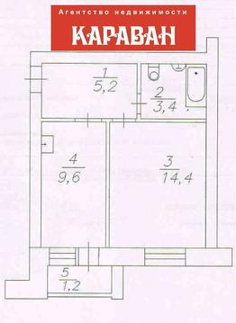 Продам 1-комн ул.Труда 19, площадью 30 кв.м, на 5 этаже