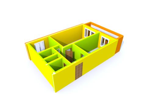 Уютная 2-комнатная квартира в Климовске - Фото 1