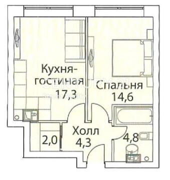 Продажа квартиры, м. Фили, Шелепихинская наб. - Фото 1