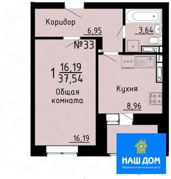 Однокомнатная квартира: г.Липецк, Стаханова улица, 59 - Фото 2