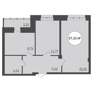 Продажа квартиры в новостойке - Фото 2