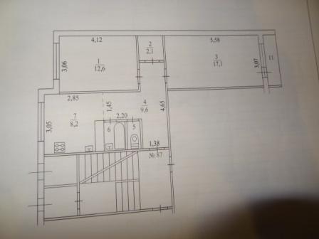 Отличная 2 к.кв.в хорошем состоянии в г.Гатчина, микрорайон Въезд - Фото 2