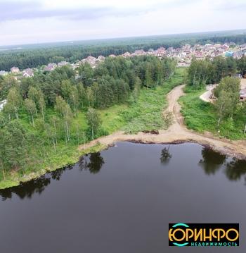 Участок на берегу Ждановского озера - Фото 2