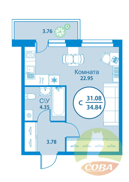 Продажа квартиры, Тюмень, Фармана Салманова
