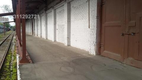 Под склад, холод, выс. потолка: 4,5 м, пол асфальт, ж/д ветка, пропус - Фото 4