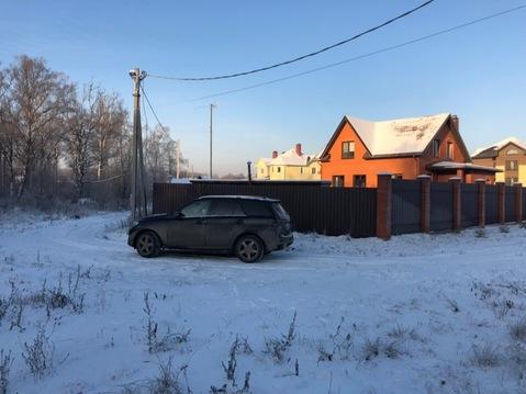 Отличный участок 14 соток в деревне Назимиха Щелковского района - Фото 1