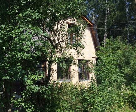 Кирпичный 2 эт. дом с отоплением на участке 5 сот. в черте Климовска - Фото 2