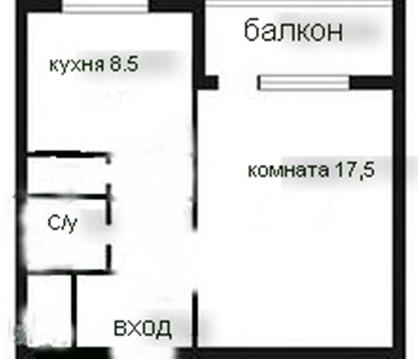 Продам 1к. квартиру. Вырица пгт, Андреевская ул. - Фото 2