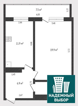 Объявление №65164950: Продаю 1 комн. квартиру. Тюмень, ул. Широтная, д. 134 к 2,
