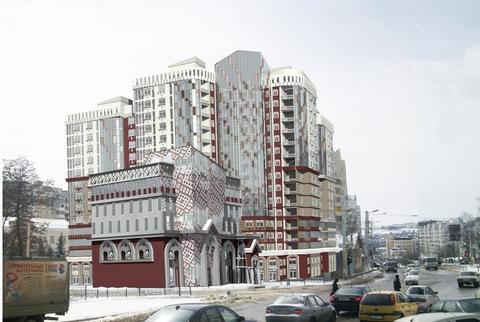 3-к. кв, новостройка, центр города, 46 р/м2 - Фото 2